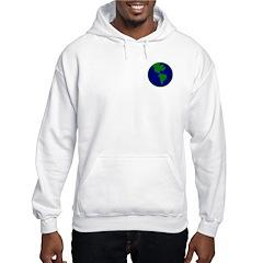 Blue-Green Earth Hoodie
