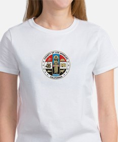 LOS-ANGELES-COUNTY-SEAL Womens T-Shirt