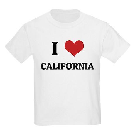 I Love California Kids T-Shirt