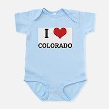 I Love Colorado Infant Creeper