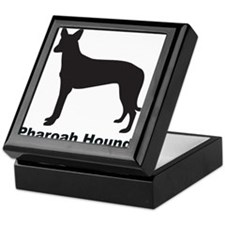 PHAROAH HOUND Tile Box