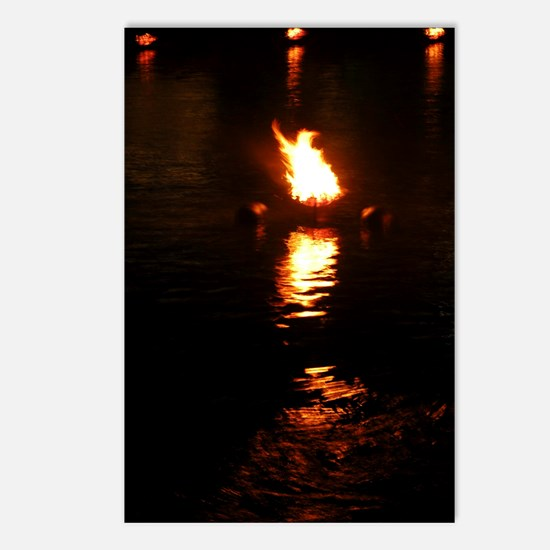 Waterfire - Postcards (Package of 8)