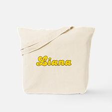 Retro Liana (Gold) Tote Bag