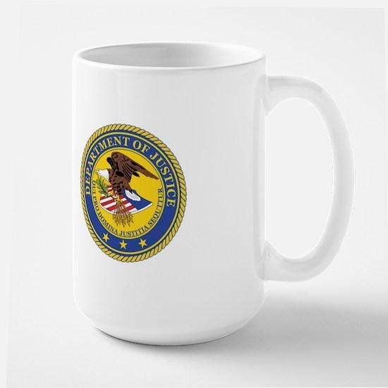 DEPARTMENT-OF-JUSTICE-SEAL Large Mug