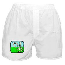 Horseshoe Pitching Boxer Shorts