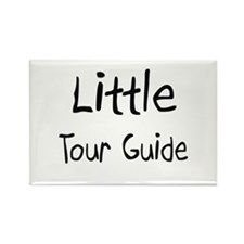 Little Tour Guide Rectangle Magnet
