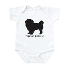 TIBETAN SPANIEL Infant Bodysuit