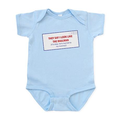Mailman is Daddy Infant Bodysuit