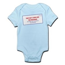 Mailman is Daddy Infant Bodysuit