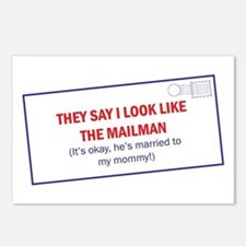 Mailman is Daddy Postcards (Package of 8)