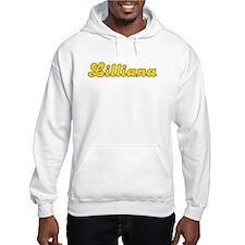 Retro Lilliana (Gold) Hoodie Sweatshirt