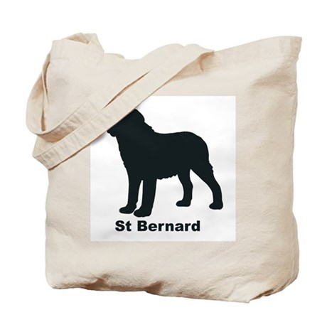 SMOOTH ST BERNARD Tote Bag