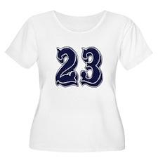 23 Womens Plus-Size Scoop Neck T