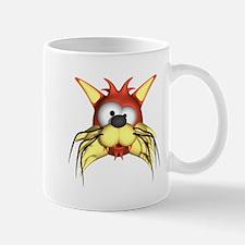 Cross Eyed Cat Mug