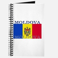 Moldova Moldovan Flag Journal