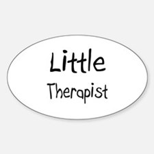 Little Therapist Oval Decal