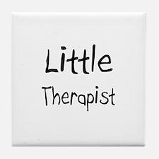 Little Therapist Tile Coaster