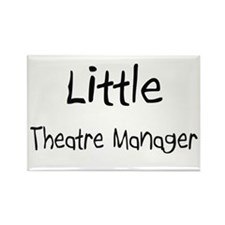 Little Theatre Manager Rectangle Magnet