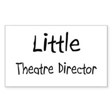 Little Theatre Director Rectangle Decal