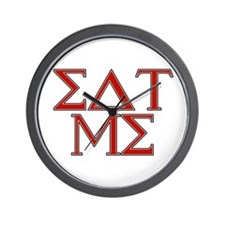 Greek (Eat Me) Wall Clock