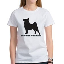 SWEDISH VALLHUND Womens T-Shirt