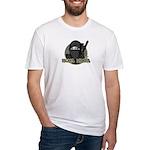 Mona Lisa Ninja Fitted T-Shirt