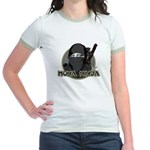 Mona Lisa Ninja Jr. Ringer T-Shirt