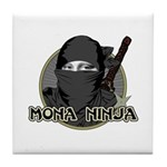 Mona Lisa Ninja Tile Coaster