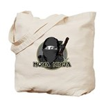 Mona Lisa Ninja Tote Bag
