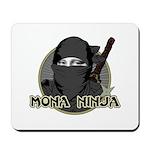 Mona Lisa Ninja Mousepad