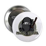 "Mona Lisa Ninja 2.25"" Button (10 pack)"