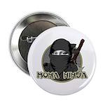 "Mona Lisa Ninja 2.25"" Button (100 pack)"