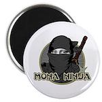 "Mona Lisa Ninja 2.25"" Magnet (10 pack)"