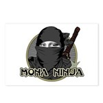 Mona Lisa Ninja Postcards (Package of 8)