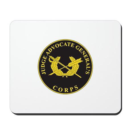 JUDGE-ADVOCATE-GENERAL Mousepad