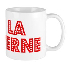 Retro La Verne (Red) Mug