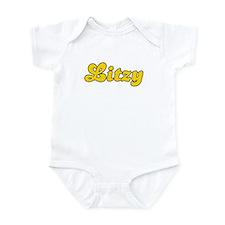 Retro Litzy (Gold) Infant Bodysuit