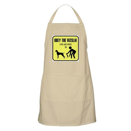 Obey the Vizsla! You are here. BBQ Apron