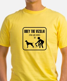 You are here. Obey the Vizsla! T