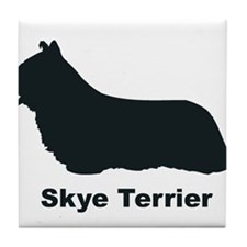 SKYE TERRIER Tile Coaster