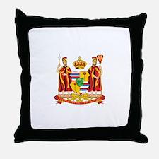HAWAII-COA Throw Pillow