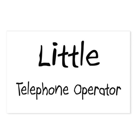 Little Telephone Operator Postcards (Package of 8)