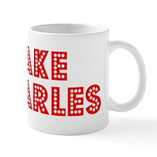 Retro Lake Charles (Red) Mug