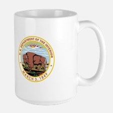 DEPARTMENT-OF-THE-INTERIOR- Large Mug