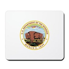 DEPARTMENT-OF-THE-INTERIOR- Mousepad