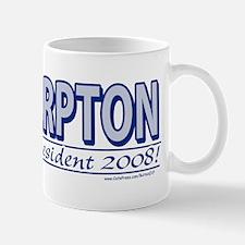 Al Sharpton For President 2008 Mug