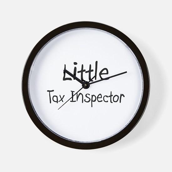 Little Tax Inspector Wall Clock