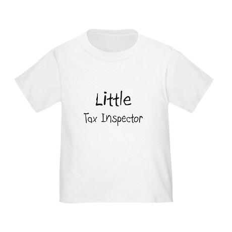 Little Tax Inspector Toddler T-Shirt