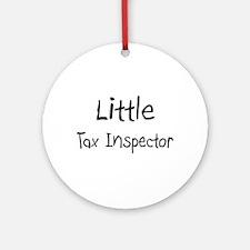 Little Tax Inspector Ornament (Round)