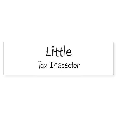 Little Tax Inspector Bumper Sticker